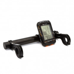 Barre extension de cintre VTT en fibre carbone - Support pour GPS, Lampe, Phare, Smartphone