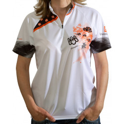 Maillot VTT All Mountain Manches courtes - White is the new black